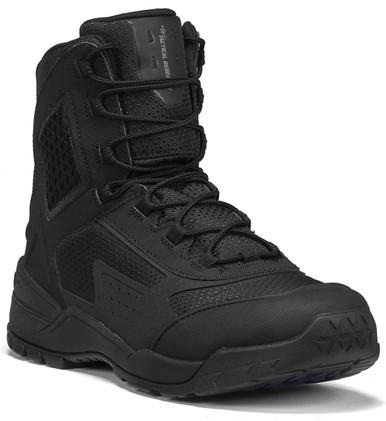 Tactical Research Men's Black 10-40 7″ Ultralight Tactical Duty Boot | 16-Wide | Rubber | LAPoliceGear.com