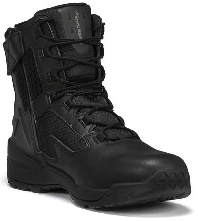 Tactical Research Men's Black 10-40 7″ Waterproof Ultralight Tactical Side-Zip Boot | 16-Wide | Leather/Rubber | LAPoliceGear.com