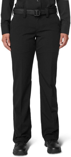 5.11 Tactical Women's PDU Flex-Tac Polo/Wool Class A Pant 64424   Midnight Navy Blue   2/Unhemmed   Polyester/Wool   LAPoliceGear.com