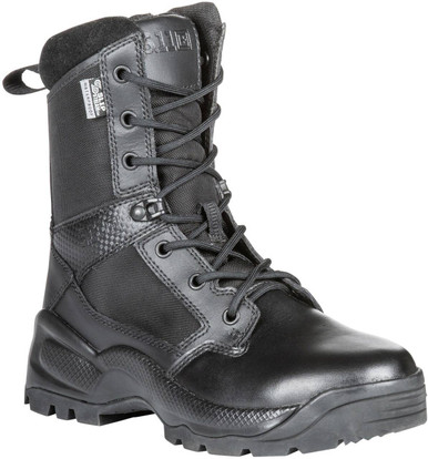 "5.11 Tactical Men's A.T.A.C. 2.0 8"" Storm Black Boot 12392 