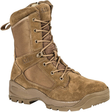 "5.11 Tactical Men's A.T.A.C. 2.0 8"" Desert Boot 12393 | Dark Coyote | 14-Standard | Nylon | LAPoliceGear.com thumbnail"