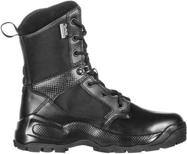 "5.11 Tactical Women's A.T.A.C. 2.0 8"" Storm Black Boot 12406 | 9.5-Standard | Nylon | LAPoliceGear.com thumbnail"