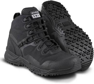 Original SWAT Alpha Fury 6″ Men's Boot | Black | 16-Wide | Polyester/Nylon/Rubber | LAPoliceGear.com