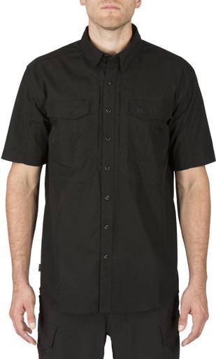 5.11 Tactical Men's Stryke Short Sleeve Shirt 71354 | Tundra | X-Large | LAPoliceGear.com