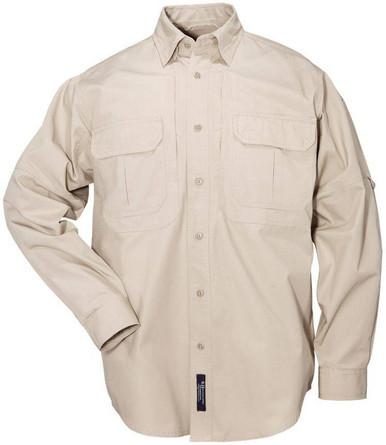 5.11 Tactical Men's Tactical Long Sleeve Shirt 72157 | OD Green | Small | Cotton | LAPoliceGear.com