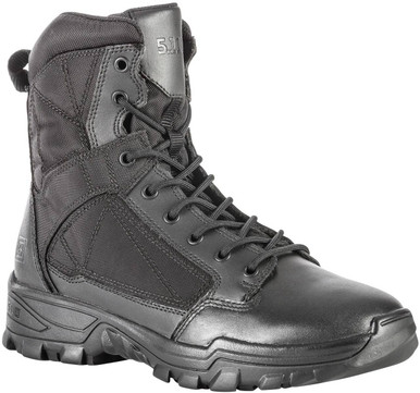 5.11 Tactical Men's Fast-Tac 6″ Black Boot 12380 | 7-Wide | Nylon/Leather | LAPoliceGear.com