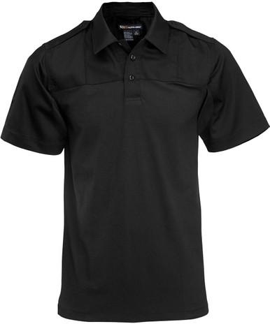 5.11 Tactical Men's Rapid PDU Short Sleeve Shirt 71332 | Silver Tan | 5X-Large | Cotton/Spandex | LAPoliceGear.com