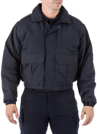 5.11 Tactical Men's Double Duty Jacket 48096 | Dark Navy Blue | Large | Polyester/Nylon | LAPoliceGear.com