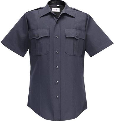 Flying Cross Deluxe Tactical 68% Poly/30%Rayon/2%Lycra Women's Long Sleeve Shirt | Navy Blue | 32/Regular | LAPoliceGear.com