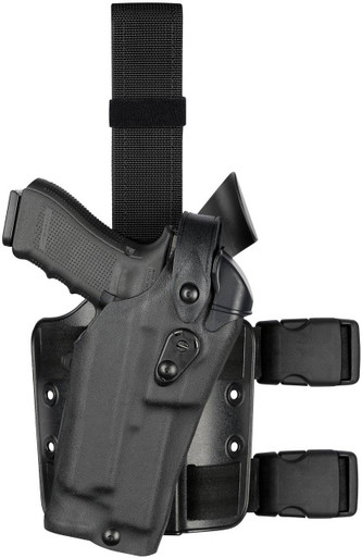 Safariland 6304RDS ALS/SLS Drop-Rig Tactical Holster | Red | Nylon | LAPoliceGear.com