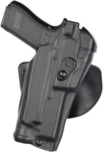Safariland 6378RDS ALS Concealment Paddle & Belt Loop Combo Holster | Red | LAPoliceGear.com