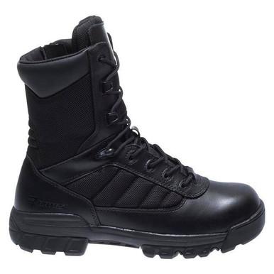 Bates Women's 8″ Tactical Sport Side Zip Composite Toe Boot | Black | 10-Standard | Nylon/Leather/Rubber | LAPoliceGear.com