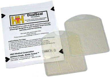 H&H Medical DualSeal Chest Seal |