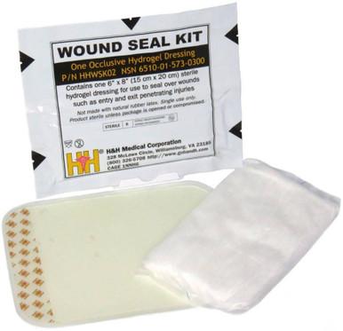 H&H Medical Wound Seal Kit | Plastic |