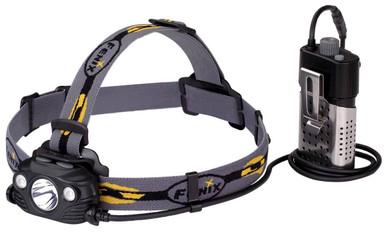 Fenix HP30R USB Rechargeable Headlamp | Black |