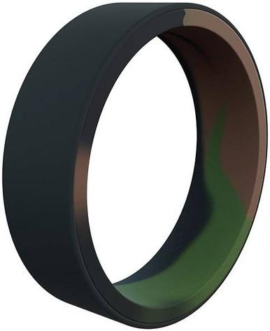 Qalo Men's Switch Reversible Camo Silicone Ring   12   LAPoliceGear.com