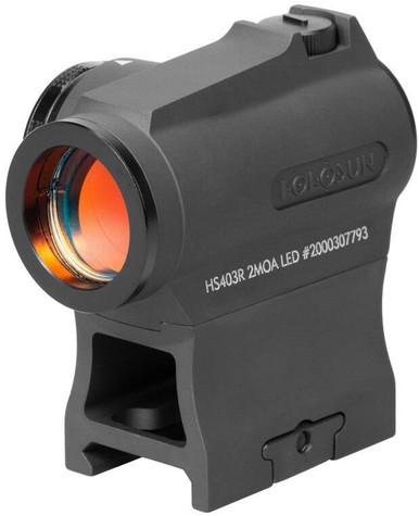 Holosun HS403R 2 MOA Red Dot Sight | Rubber | LAPoliceGear.com