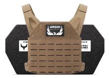 AR500 Armor Freeman Plate Carrier - Includes 2 Armor Plates