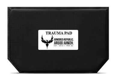 AR500 Armor Blunt Force Trauma Pad For Abdominal Area-9.5