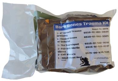 Elite First Aid, Inc. Bare Bones Trauma Kit |