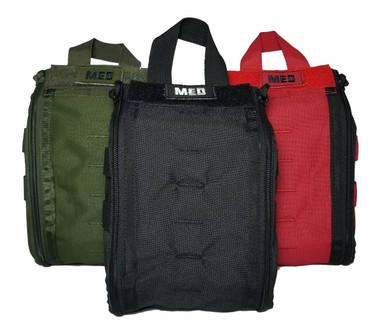 Elite First Aid, Inc. Patrol Trauma Kit Level 1 | Black |