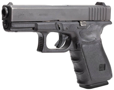 Hogue Grips Hogue GLOCK 19, 23, 32, 38 (Gen 3) Black Rubber Wrapter Adhesive Grip | LAPoliceGear.com