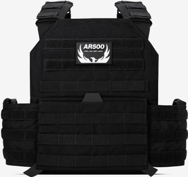 AR500 Armor Testudo Lite Plate Carrier | Black | Nylon |