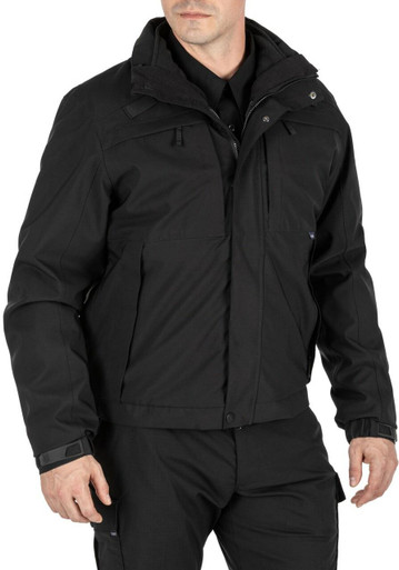5.11 Tactical Men's 5-In-1 Jacket 2.0 48360 | Dark Navy Blue | 3X-Large | Polyester/Nylon | LAPoliceGear.com