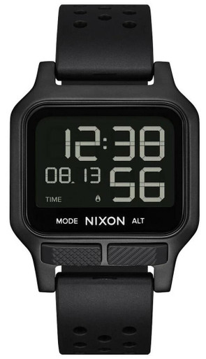 Nixon Heat Digital Watch | Surplus | Rubber/Stainless Steel | LAPoliceGear.com