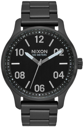 Nixon Patrol Watch | Stainless Steel | LAPoliceGear.com