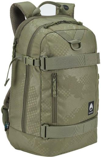 Nixon Gamma Backpack | Olive Dot Camo | Polyester/Plastic | LAPoliceGear.com