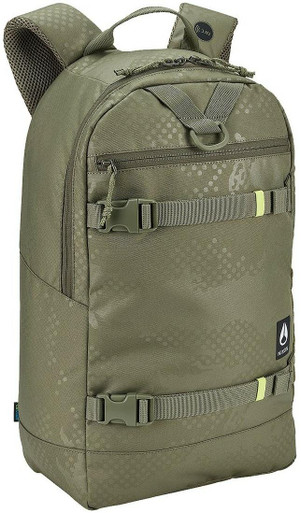 Nixon Ransack Backpack | Olive Dot Camo | Polyester/Plastic | LAPoliceGear.com