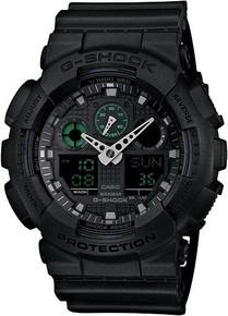 G-Shock Black Ana-Digi 3-EYE Watch GA-100MB-1ACR