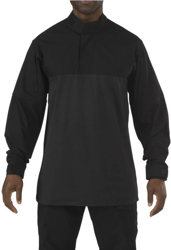 5.11 Tactical Men's Stryke TDU Rapid Long Sleeve Shirt 72071 | Storm | 2X-Large | Polyester/Spandex | LAPoliceGear.com