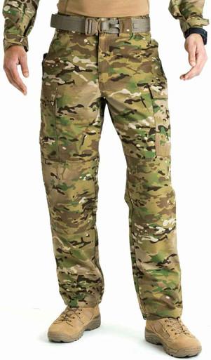 5.11 Tactical Men's Multicam TDU Pant 74350 | 2XLarge/Regular | Cotton/Polyester | LAPoliceGear.com thumbnail