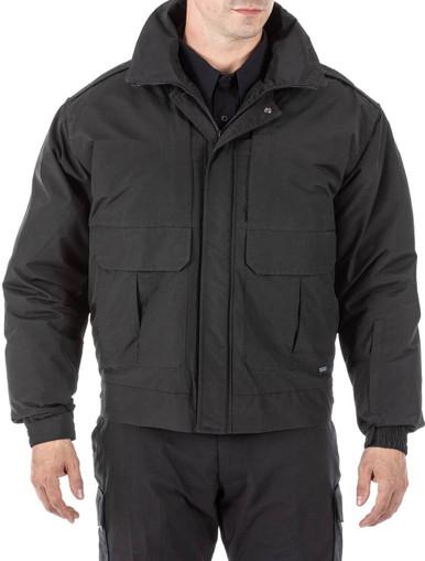5.11 Tactical Men's Signature Duty Jacket 48103 | Dark Navy Blue | Medium | Polyester/Nylon | LAPoliceGear.com