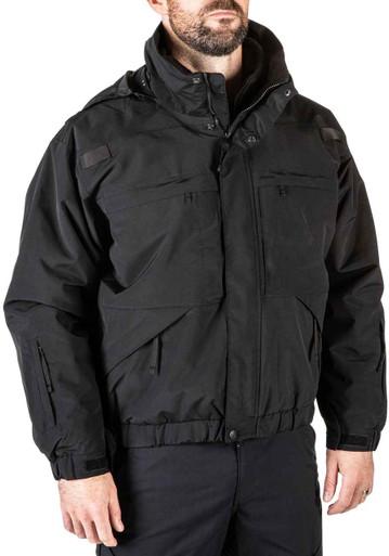 5.11 Tactical Men's 5-In-1 Jacket 48017 | Dark Navy Blue | 2X-Large | LAPoliceGear.com