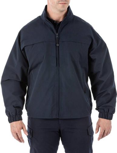5.11 Tactical Men's Response Jacket 48016 | Dark Navy Blue | 3X-Large | LAPoliceGear.com