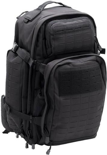 LA Police Gear Atlas(TM) 72 Hour Tactical Backpack   Black   Polyester