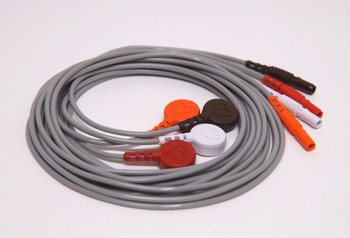 "40"" 4 Wire Lead Set for Spacelabs ARIA"