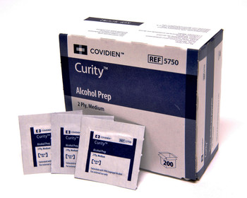 Covidien Alcohol Prep Pads Without Pumice (Case)