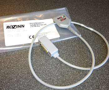 5 Lead Patient Cable for Rozinn Monitor