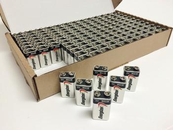 Energizer 9 Volt  Batteries - 156 Per Case