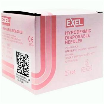 "Exel Hypodermic Disposable Needle 18G x 1"""