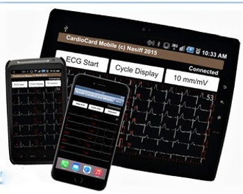 NASIFF CardioResting Bluetooth Mobile System CC-ECG1 BTM