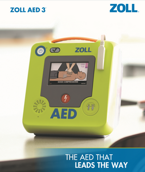 ZOLL AED 3 - Automated External Defibrillator