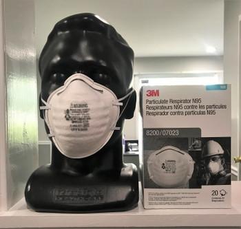 3M Particulate Respirator N95 Mask  20/Box