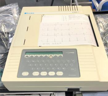 Burdick E350i EKG Machine w/2 Cables