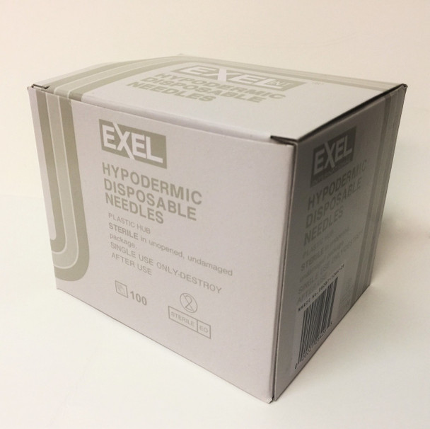 Excel Hypodermic Disposable Needle 27G x 1.1/2""