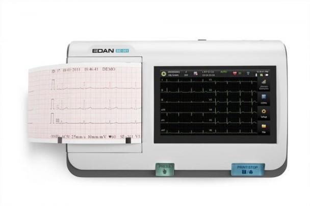 EDANUSA SE-301  3-Channel ECG